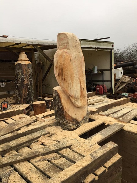 SD Provan Carving Owls