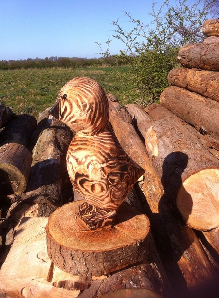 SD Provan Chainsaw Carved Chick