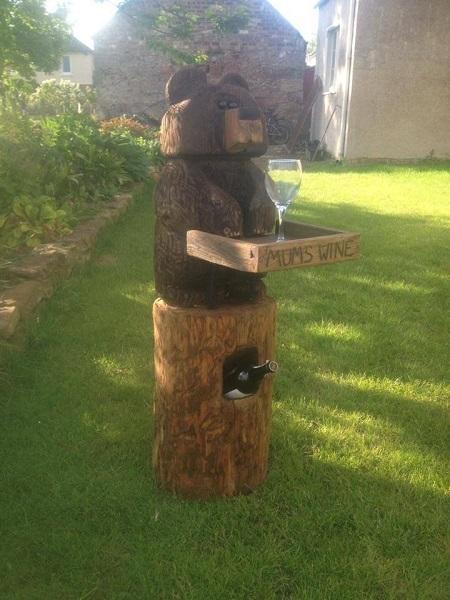 SD Provan Mum's Wine Bear