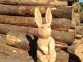 SD Provan Chainsaw Carved small bunny