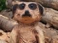 SD Provan - Meerkat carving