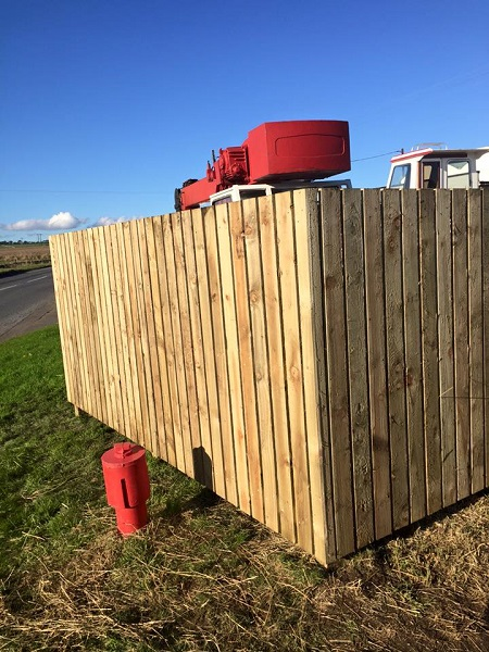 SD Provan Fencing at Old Pitkierie Garage 4