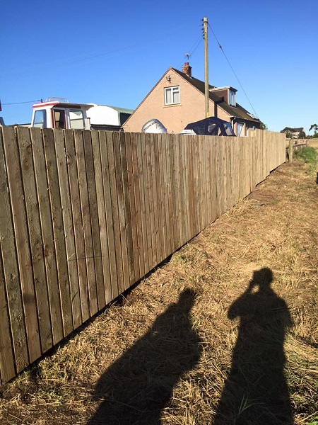 SD Provan Fencing at Old Pitkierie Garage 5