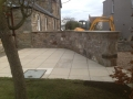 SD Provan - Constructing Curved Stone Wall & Patio 3