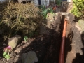 SD Provan - Drainage work at Peat Inn before