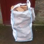 Hardwood Logs Vented Barrow Bag