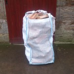 Softwood Logs Vented Barrow Bag